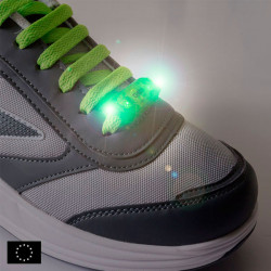 GoFit LED Safety Light for Laces (2-pack)