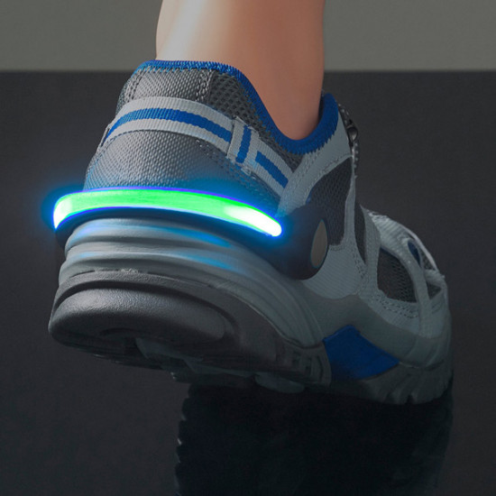 GoFit Security LED Light Clip for Running Shoes