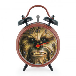 Star Wars Alarm Clock with Second Hand