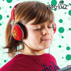 Playz Kidz Little Monsters Headphones