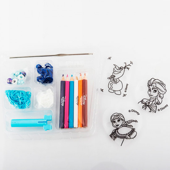 Rubber Bands to Make Bracelets with Frozen Beads