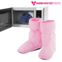 OUTLET Warm Hug Feet Microwavable Boots (No packaging)