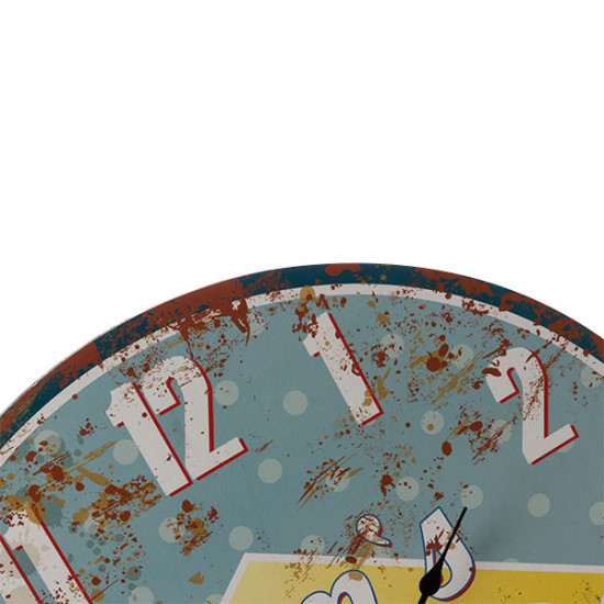 Vintage Coocnut Mom's Diner Wall Clock
